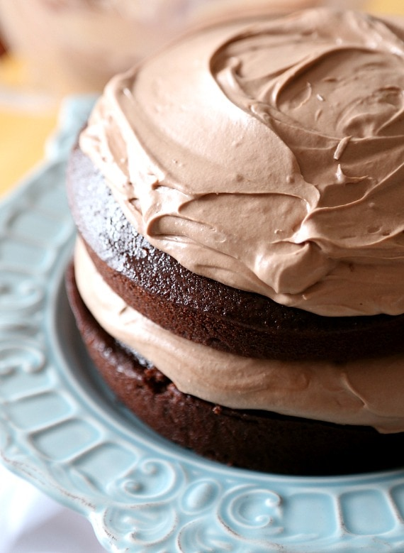 Chocolate Hazelnut Layer Cake. Love it when a cake is as pretty as it ...