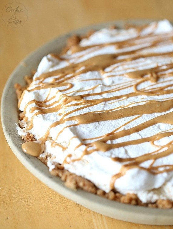 Butter Pie. A simple and creamy pie that is loaded with Nutter Butter ...