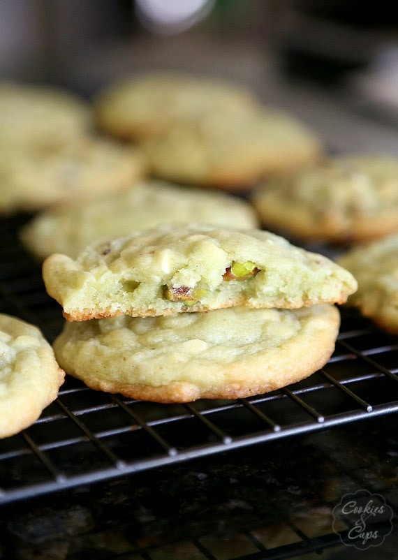 Image of Pistachio Pudding Cookies