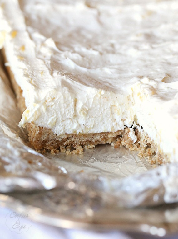 Potluck Cheesecake Dessert, Creamy simple to make and crazy good!