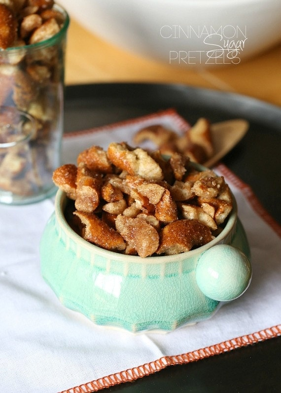 Cinnamon Sugar Pretzels aka Churro Pretzels. Simple and so addictive!