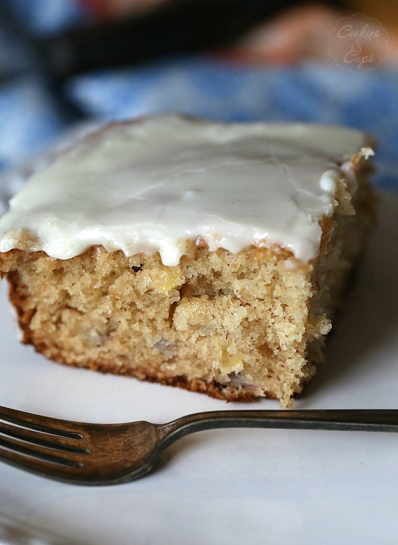 Dr. Bird Cake.. a lot like Hummingbird Cake! So easy and delicious!