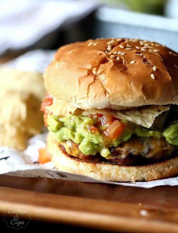 Taco Burgers.. 2 family favorites in one place!