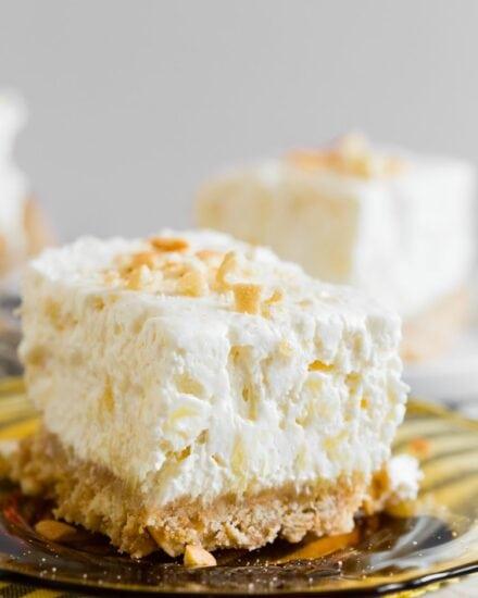 Creamy Potluck Cheesecake Dessert is a no bake cheesecake recipe