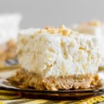 This Easy Potluck Cheesecake Dessert is creamy and sweet
