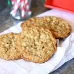 Image of Crispy, Chewy Oatmeal Cookies