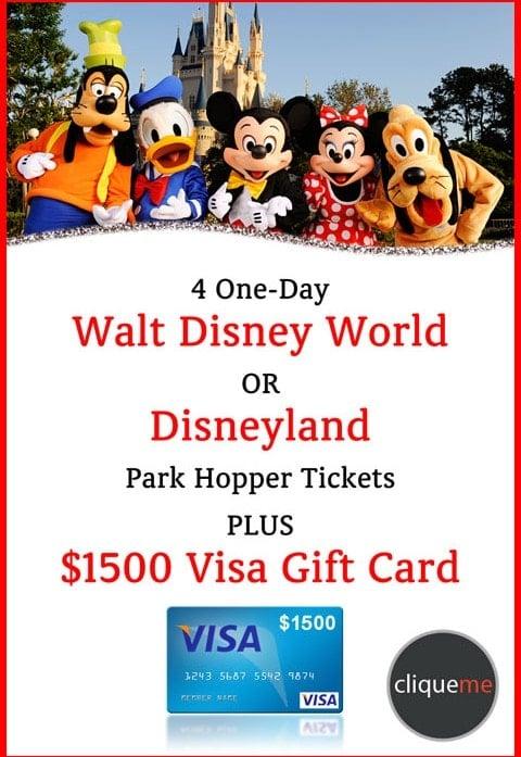 CliqueMe Mobile Disney Giveaway!