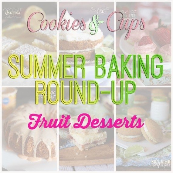 Best Fruit Desserts on Cookies and Cups