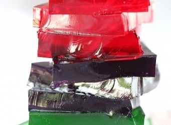 Gatorade Jello Squares...perfect for half-time snacks at kids sporting events!