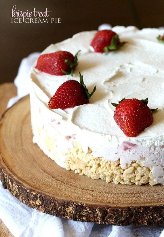 Valentines Day Ice Cream Cake Recipe