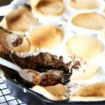 S'mores Skillet Cookie ~ A perfect easy dessert that everyone will be dying to dig into!