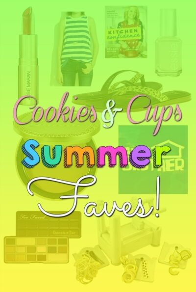 Summer Stuff on Cookies and Cups