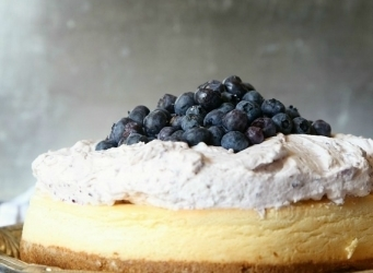 BLueberry Mousse Cheesecake