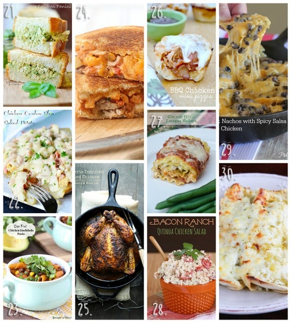 50 DInner Ideas Using Rotisserie Chicken