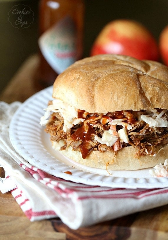 slow-cooker pulled pork with chipotle bbq sauce