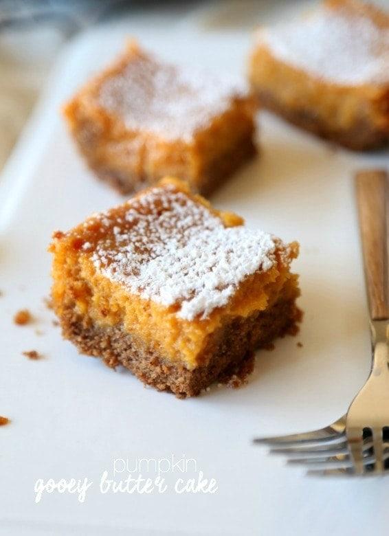 Pumpkin Pie Bars Using Cake Mix