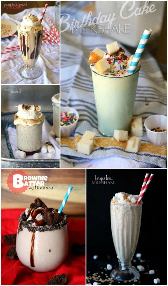 Fun Ideas for Milkshakes!