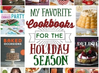 My Favorite Cookbooks for the Holiday Season!