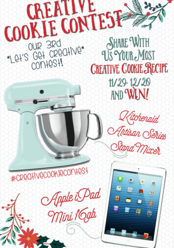 Enter our Creative Cookie Recipe Contest!! #creativecookiecontest