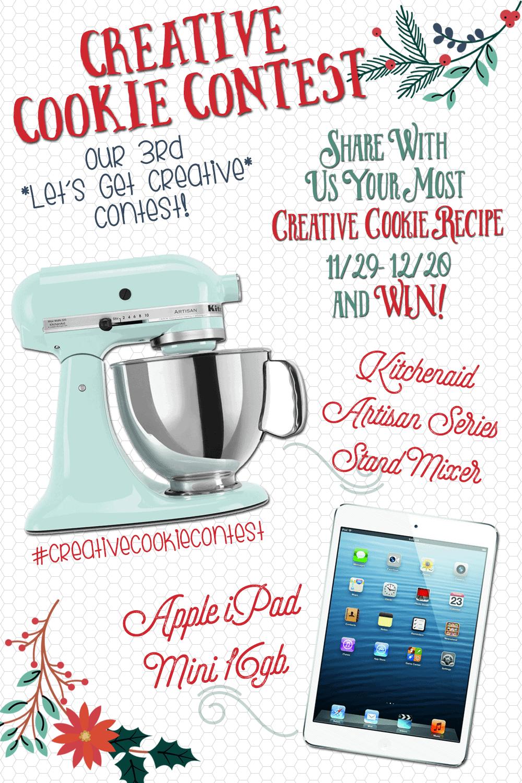 Enter our Creative Cookie Recipe Contest!! #creativecookiecontest