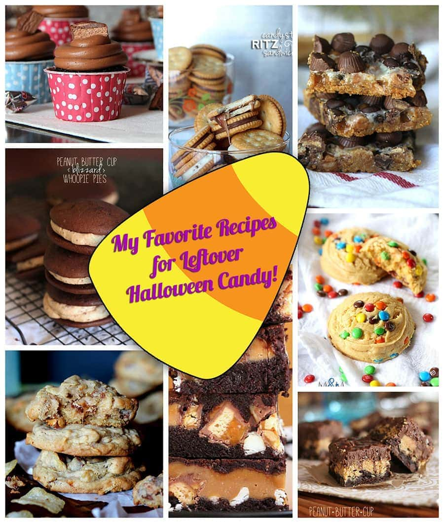 Leftover Candy Ideas!
