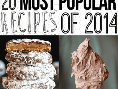 Most Popular Recipes of 2014 on cookiesandcups.com