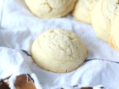 Whipped Shortbread ~ Super simple with a meltaway texture!