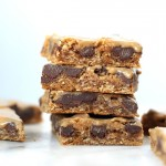 Image of Peanut Butter Chocolate Chip Oat Squares