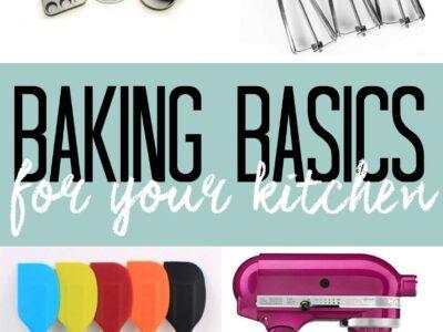 Baking Basics for your Kitchen!