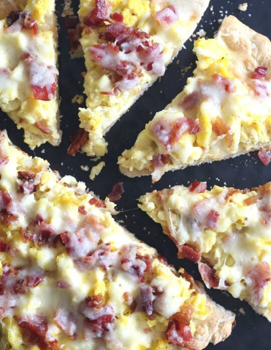 Breakfast Pizza...super easy to prepare!