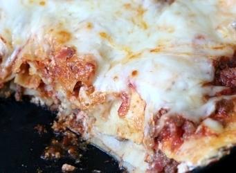 Easy Skillet Lasagna!
