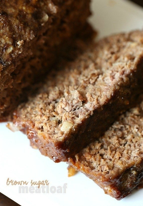 Brown Sugar Meatloaf is an easy weeknight meat that combines sweet and ...