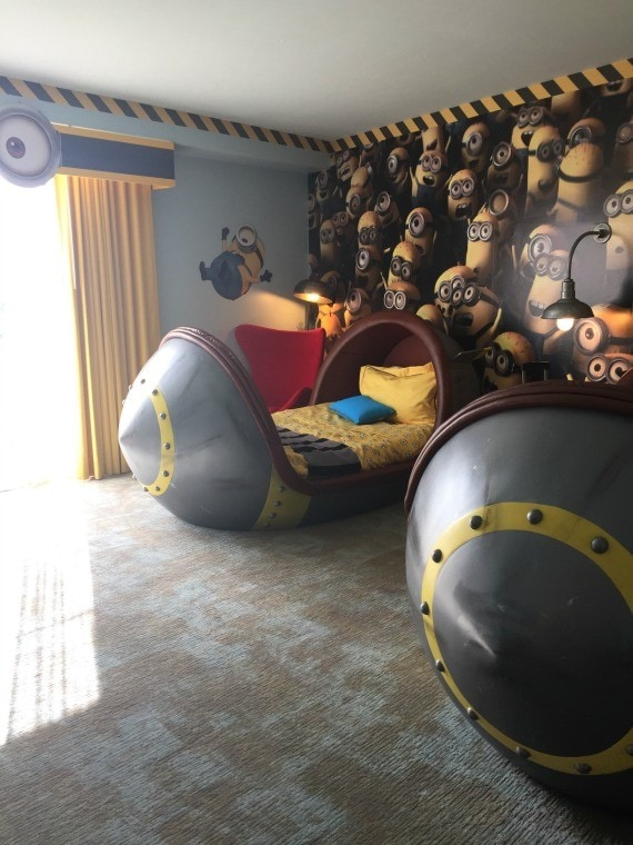 Minion Suite at Loews Portofino Bay Universal