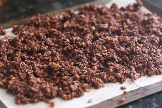 Chocolate Crunch Cake Condensed Milk