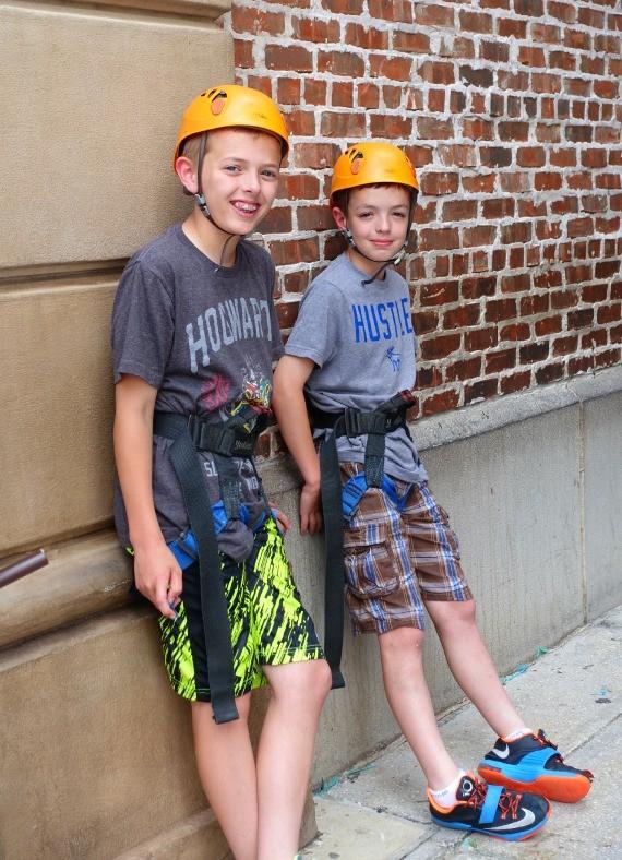 Wall Climbing at UNiversal