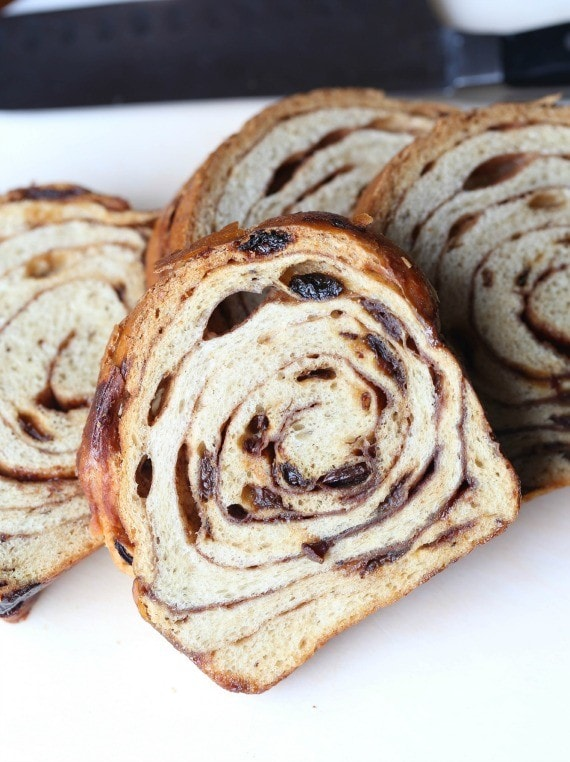 Cinnamon Swirl bread for French Toast Muffins!