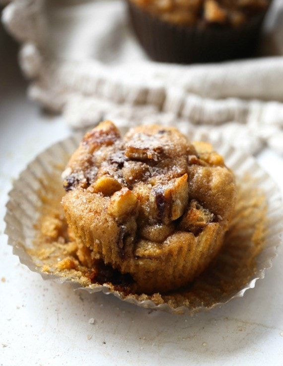French Toast Muffins...easy, delicious and moist muffins topped with a ...