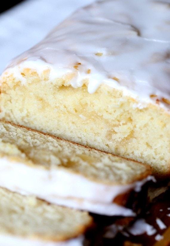 Lemon Curd Cake With Limoncello