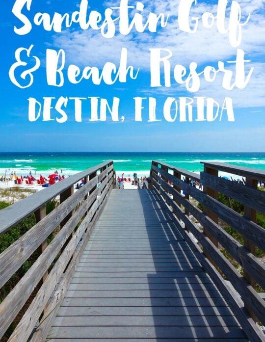 Sandestin Golf and Beach Resort Vacation