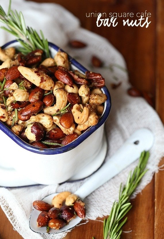 Union Square Cafe Bar Nuts Copycat Recipe...the BEST NUTS EVER!