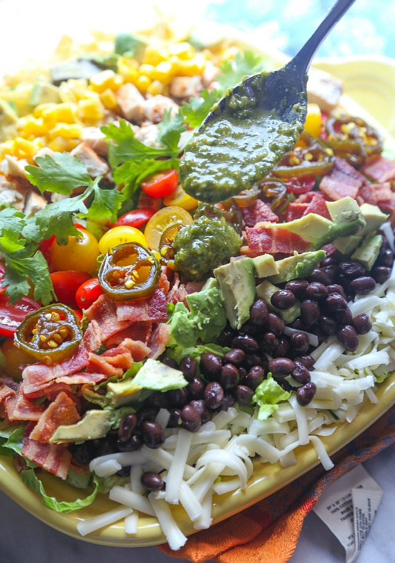 Image of Southwestern Cobb Salad with Spicy Cilantro Lime Vinaigrette