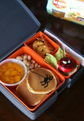 Spiderman Lunchbox Idea
