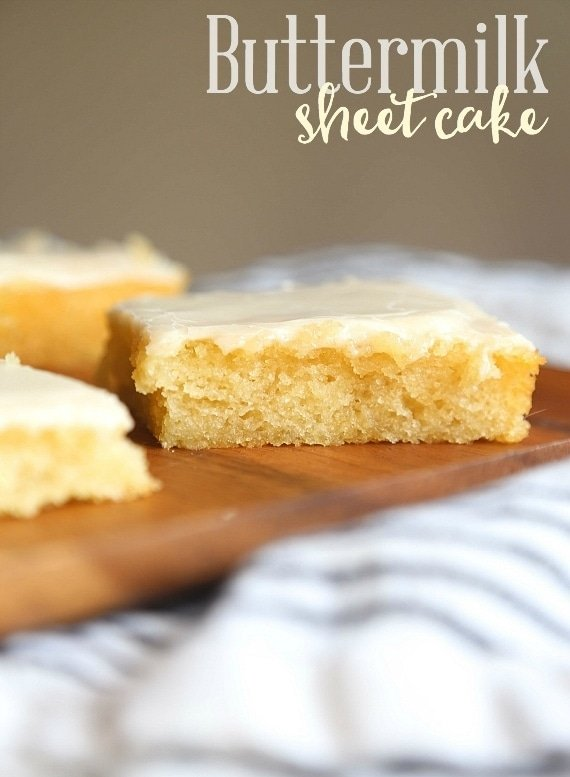 Buttermilk Sheet Cake Cookies And Cups