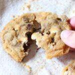 """These chewy S'mores cookies are loaded with milk chocolate, mallow bits and coated in graham cracker crumbs making them """"Dirty S'mores Cookies"""""""