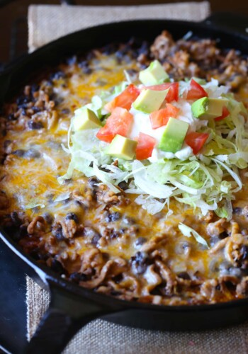 Image of a Skillet Tamale Pie
