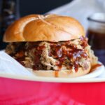 Root Beer Pulled Pork with Root Beer BBQ Sauce