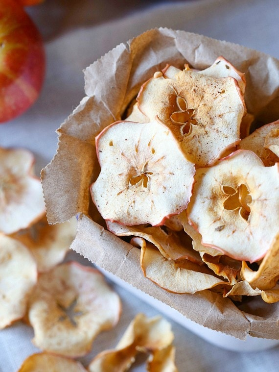 Crunchy Apple Chips! So simple to make!