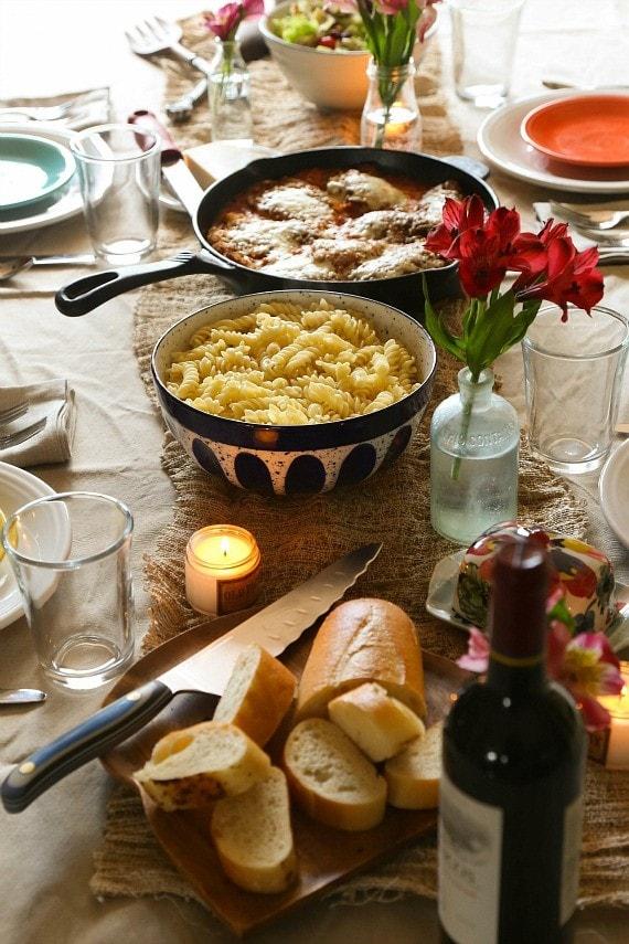 Hosting an easy dinner party!