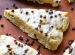 Chocolate Chip Cream Cheese Scones...the perfect soft scone. The perfect combination of a muffin and a biscuit!
