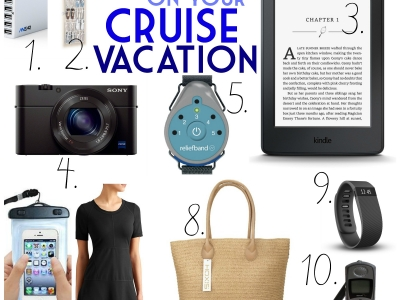 What to Pack on a Cruise!